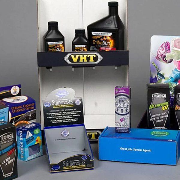 Printed Counter & Shelf Display Units